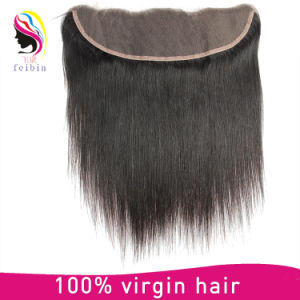 Factory Price Wholesale Virgin Brazilian Body Wave Closure Hair Frontal 13*4 pictures & photos