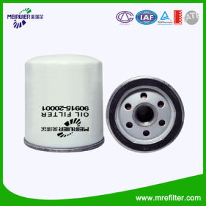 Auto Spare Parts Toyota Car Oil Filter (90915-20001) pictures & photos