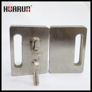Zinc Alloy Glass Door Lock With Handle HR-1137/HR-1136: pictures & photos