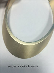 Custom 6063 Sand Blasted Anodizing Aluminium /Aluminum Oval Tube for Wilreless Powerbank pictures & photos