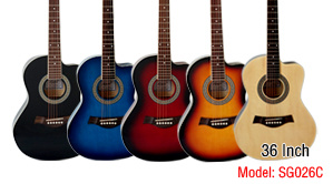 38 Inch Colour Beginner Children Acoustic Guitar pictures & photos