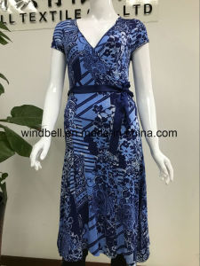 Womens Elegance Dress with All-Over Printing pictures & photos