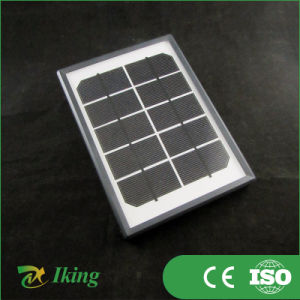 2 Watts 5 Volts Monocrystalline Silicon Solar Panel with Plastic Frame