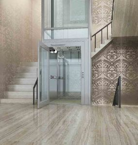 Small Machine Room Passenger Home Villa Residential Elevator pictures & photos