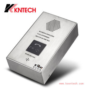 Wall Mounting Elevator Phone for SIP SD104 Kntech pictures & photos