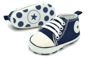Children Vulcanized Shoes with Soft Outsole