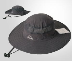 Black UV Protect Brim Hat pictures & photos