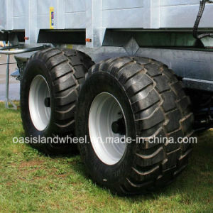 Radial Farm Flotation Trailer Tyre (600/55R26.5) with Wheel Rim pictures & photos