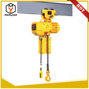 3t Single Speed Electric Chain Hoist with Hook pictures & photos
