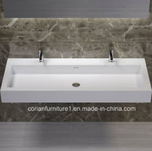 Hygienic Corian Acrylic Solid Surface Bathroom Basin pictures & photos