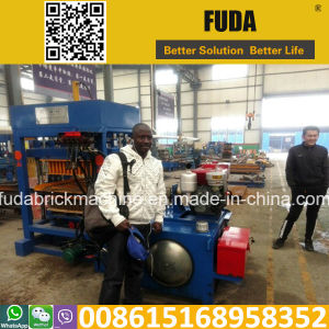Hydraulic Diesel Engine Block Machine Qt4-30 pictures & photos