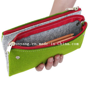 Felt Pencil Bags with Zipper for Children pictures & photos