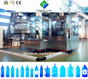 Soft Drink Plant/Bottle Filling Machine with Water Filter pictures & photos