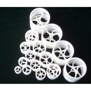 PTFE Pall Ring 25mm X 2mm X 25mm pictures & photos