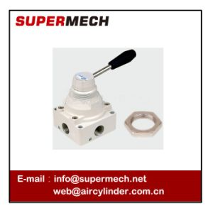 Hand Control Valve with Nut Airtac Type pictures & photos
