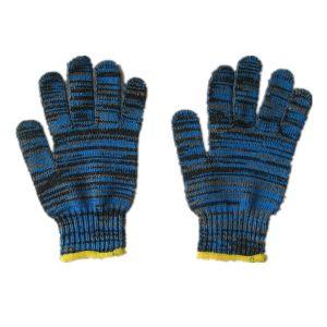 7g String Knit Cotton Hand Glove Yarn Glove Thread Cotton Glove-2408 pictures & photos