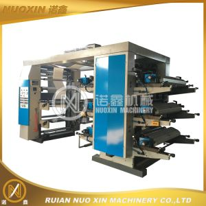 Stack Type 6 Color Flexo Printing Machine pictures & photos