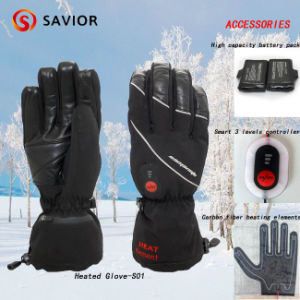 Savior Winter Waterproof Heated Ski Glove for Sking, Outdoor Sporting, Electric Heating Gloves Snow Glove, 3 Levels Smart Control pictures & photos