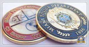 Brass Die Struck Plating Gold Challenge Coin pictures & photos