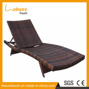 Rooftop Balcony Outdoor Garden Furniture Rattan Chairs Pool Sunbed Lounge Lying Bed pictures & photos