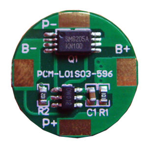 1s LiFePO4 BMS for 1 Cells in Series 3.2V BMS pictures & photos