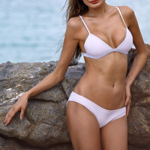 Custom Wholesale Women Sexy Neoprene Bikini Swimwear pictures & photos