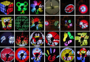 DIY Bicycle Programmable Wheel Tyre Spoke Light pictures & photos