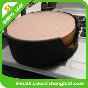 Shengleaf Rubber Cup Coaster with Custom Package and Logo in Good Quality pictures & photos