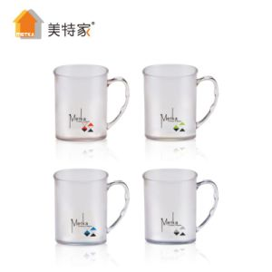 Metka Household Plastic Square Crystal Cup & Mug pictures & photos
