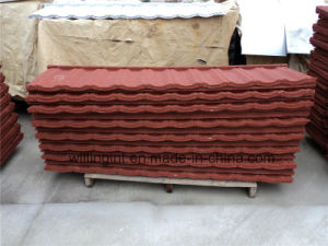 Color Steel Plate Stone Coated Tile Roofing Sheet pictures & photos