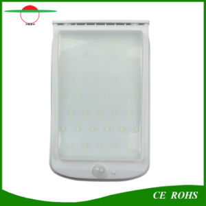Solar Powered Lights 38LED Large Battery 4400mAh 400lm I65 Solar Wall Light Garden Outdoor Lighting pictures & photos