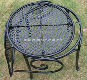 Outdoor Garden Furniture Iron Table and Chair Set (LL-WST002) pictures & photos