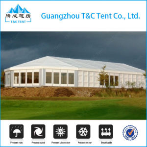 1000 People Aluminum Frame Mixed High Peak Wedding Party Tent with Cooling System and Curtain pictures & photos