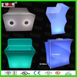 Wholesale Plastic Furnitures LED Bar Counter pictures & photos