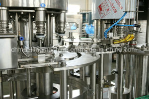 500bph for 1L Bottle Vegetable Oil Filling Machinery with Ce pictures & photos
