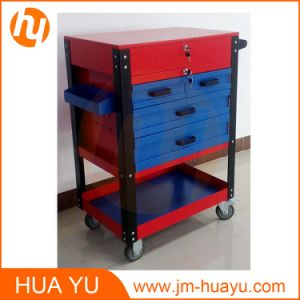 Garage Service Steel Roller Tool Trolley Cart Customize Color SPCC Material pictures & photos