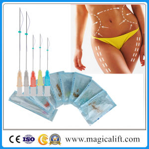 Medical Beauty Magic 3D Face Lifting Pdo Thread Barbed/Cog Thread with Ce pictures & photos
