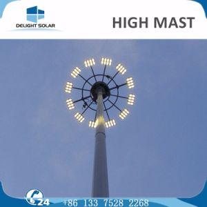 18m/20m/30m Telescopic Tripod Sports Airport Lighting Post High Mast Lighting pictures & photos