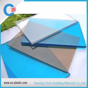 10 Years Guarantee 1.5mm to 20mm Greenhouse Polycarbonate Skylight Solid Sheet pictures & photos