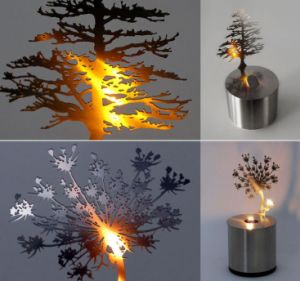 New Design Gift 9 Pig LED Night Light Projector Pine Bird Nest Dandelion Projector pictures & photos