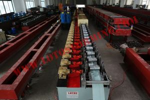 Shutter Door PU Foam Roll Forming Machine 77mm pictures & photos