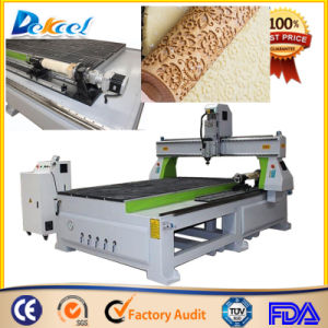 1325 CNC Router with Rotary Device Circular 3D Wood Engraver pictures & photos