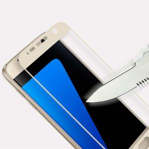 Silk-Screen Printing Full Covered Anti Scratch Screen Protector for Samsung S7 pictures & photos