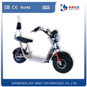 Lithium Battery 60V Powerful Harley Scooter Fat Tire Two Big Wheels Electric Motorcycle