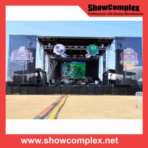 Full Color LED Display Screen for Car Show with Lower Power Cunsumption (640*640mm pH6) pictures & photos