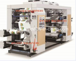 Middle Speed 4 Colors Flexo Printing Machinery pictures & photos