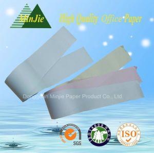 3ply Carbonless NCR Cash Paper Rolls for Supermarket