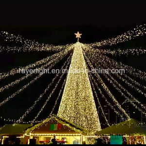 Low Cost Outdoor LED Christmas Flag Plam Tree Decoration Light pictures & photos