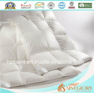 Good Quality Down Blanket White Goose Feather and Down Duvet pictures & photos