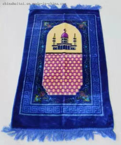 New Design Printing Soft Material Muslim Prayer Rugs pictures & photos